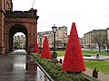 Christmas Trees, Kelvingrove Museum and Art Gallery - geograph.org.uk - 632053.jpg
