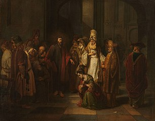 Christus and the woman in adultery