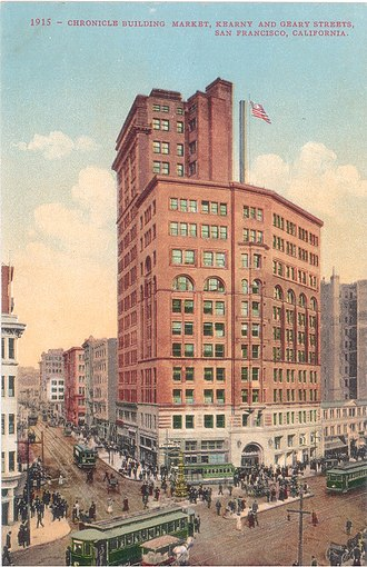 Ritz-Carlton Club and Residences - Image: Chronicle Building, San Francisco, 1915