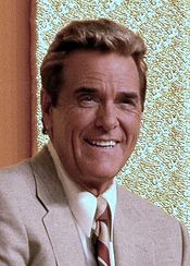 American game show host Chuck Woolery in 2004.