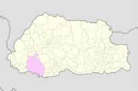 Chukha Bhutan location map.png