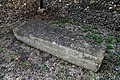 Church of St Mary, Stapleford Tawney, Essex, England - sarcophagus tomb against east wall of porch.jpg