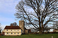 Church of St Mary Matching Essex England, and Marriage Wedding Feast Room from west.jpg