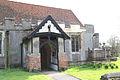 Church of St Nicholas, Fyfield, Essex, England - north porch.jpg