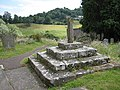Churchyard cross, St Giles' Church, Goodrich - geograph.org.uk - 870487.jpg