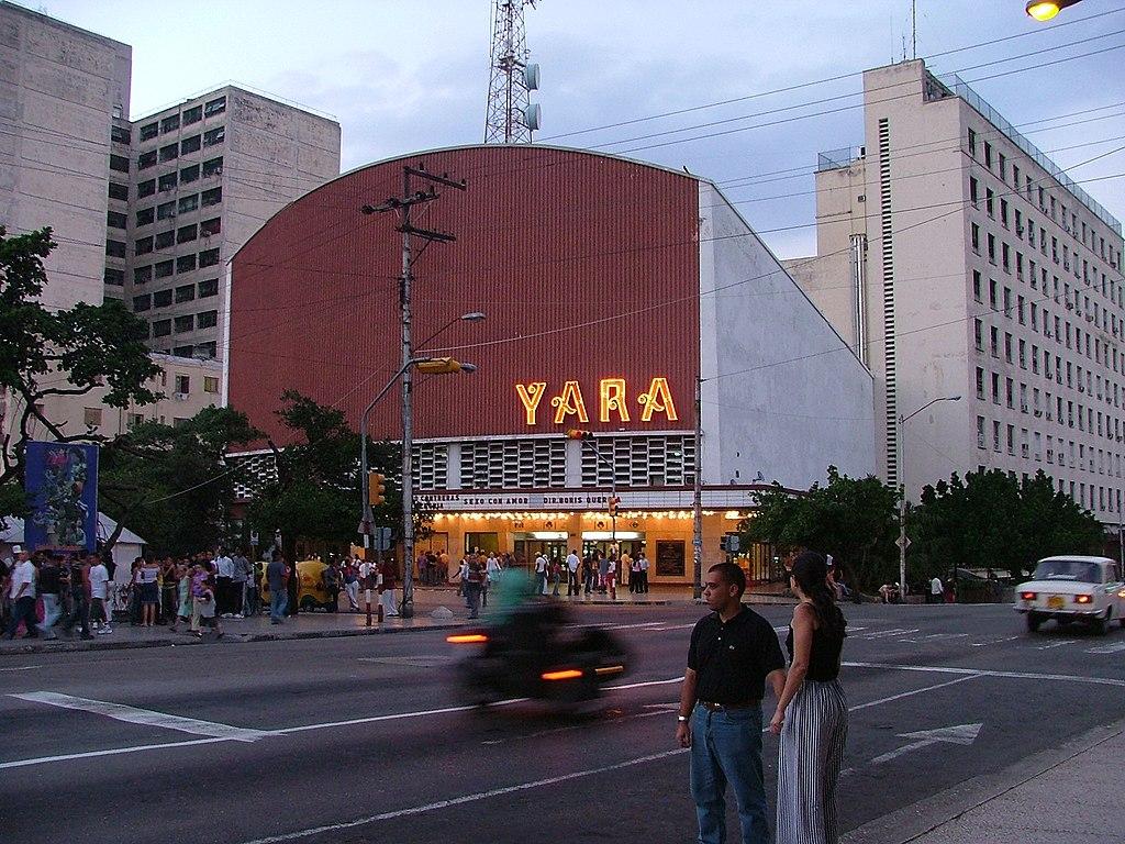 Yara cinema, Vedado, Havana