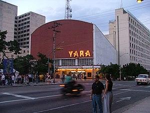 Vedado - Image: Cine Yara