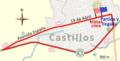 Circuito en el Municipio de Castillos. Competencia organizada por la Sociedad Española 2 de Mayo y la Federación Ciclista de Rocha (2015).png