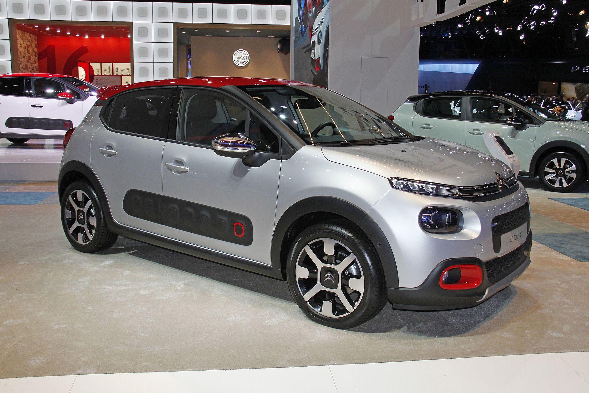 2 Door Convertible >> Citroën C3 - Wikipedia