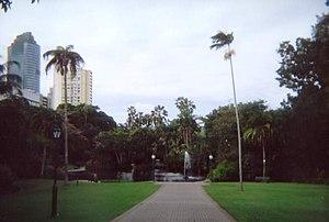 Gardens Point, Brisbane - Image: City Gardens 4