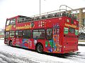 City Sightseeing bus in Oxford, England 04 - Oxford railway station.jpg