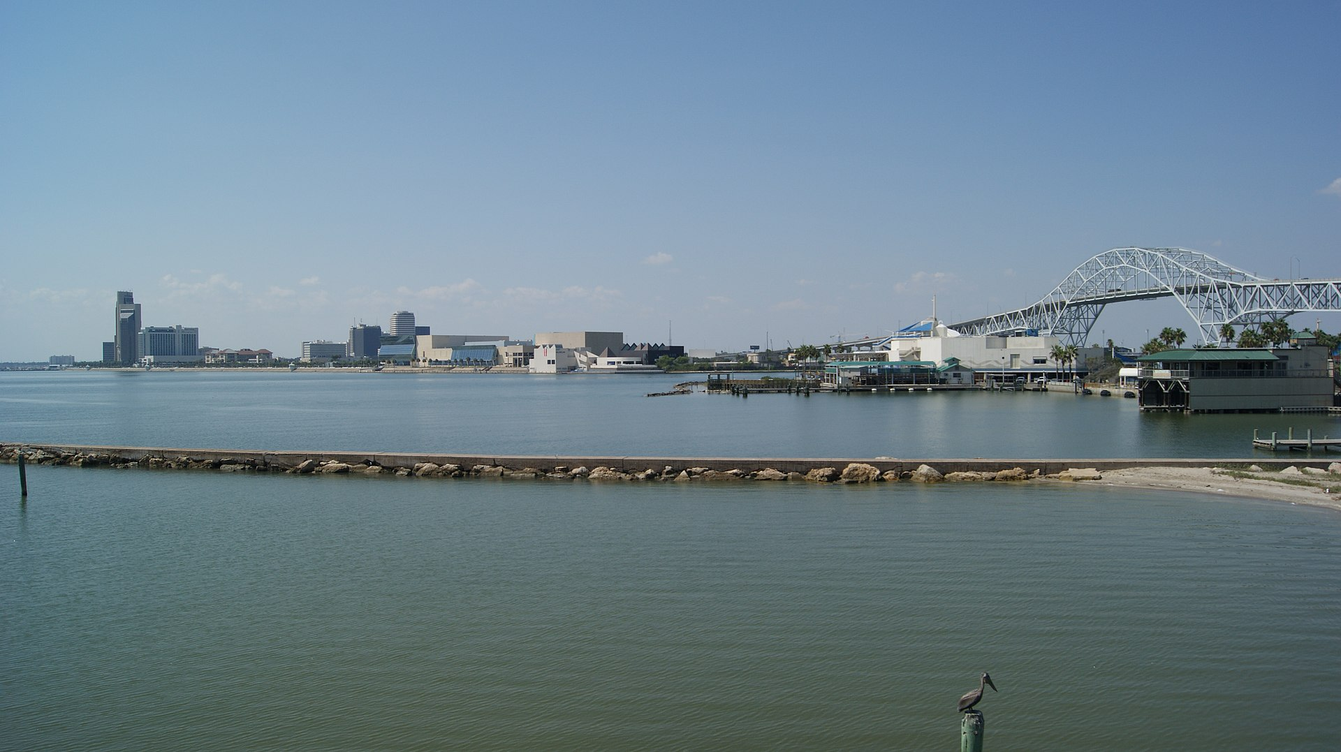 Px City Of Corpus Christi View From N C Texas C Usa