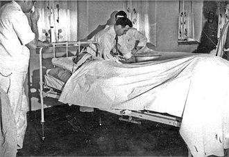 Psychiatric and mental health nursing - Civilian Public Service -93, Harrisburg, Pennsylvania, psychiatric nursing class (8389167373)
