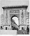 Clément Maurice Paris en plein air, BUC, 1897,147 La Porte Saint-Denis.jpg