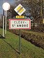 Cléry-Saint-André-FR-45-panneau d'agglomération-01.jpg