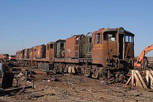 South African Class 5E1, Series 3 - Image: Class 5E1 E742