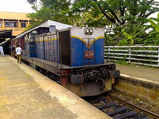 Polgahawela railway station