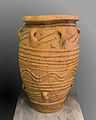 Clay minoan pithos for wine.jpg