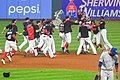 Cleveland Indians 22nd Consecutive Win (37081410296).jpg