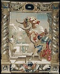 Mercury tells Aeneas to Leave Carthage