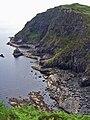 Cliffs below Ard Beag - geograph.org.uk - 1934978.jpg