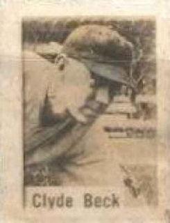Clyde Beck American baseball player