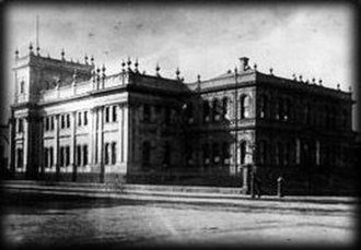 Victorian Trades Hall - Trades Hall around the turn of the 20th century.