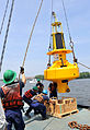 Coast Guard and NOAA set buoy in Potomac River.jpg