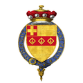 Coat of Arms of Edward Shackleton, Baron Shackleton, KG, AC, OBE, PC, FRS, FRGS.png