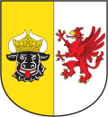 Coat of arms of Mecklenburg-Western Pomerania (small).svg