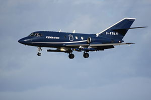 Cobham plc - Cobham Falcon about to touch down