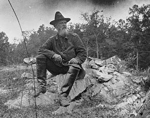 Turner Gustavus Morehead - Col. Turner G. Morehead at Antietam, September 1862