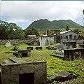 Collectie Nationaal Museum van Wereldculturen TM-20030075 Oude graven bij de ruines van de uit 1774 daterende Nederlands Hervormde Kerk Sint Eustatius Boy Lawson.jpg