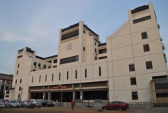 Wuhan University School of Philosophy - Humanities Hall that once housed the School of Philosophy