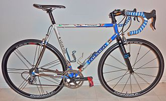 Colnago - A Colnago model: Master Extra Light, steel racing bicycle