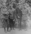 Colonel Plastiras, colonel Gonatas, amiral Hadjikyriacos, colonel Protosingelos, du Comité révolutionnaire grec.png