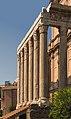 Colonnade temple Antoninus & Faustina Forum Romanum Rome.jpg