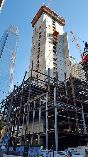 Comcast Technology Center - Image: Comcast Innovation and Technology Center Philadelphia (by My Wiki Biz) view of northwest corner