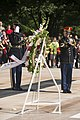 Commanding General Defense Security Command, Republic of Korea, Army Lt. Gen. Hyun Chun Cho, lays a wreath at the Tomb of the Unknown Soldier in Arlington National Cemetery (17459879960).jpg