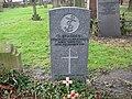 Commonwealth War Grave in Jarrow Cemetery (WW1-34) - geograph.org.uk - 1604129.jpg