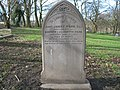 Commonwealth War Grave in Jarrow Cemetery (WW1-44) - geograph.org.uk - 1604243.jpg