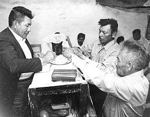 Toba people - Communion at Misión Laishí