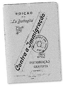 Edición TapaLa Battagliade1906.