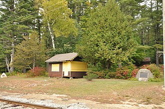 National Register of Historic Places listings in Carroll County, New Hampshire - Image: Conway NH Abenaki Camp 1