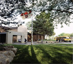 Columbia International College - Ainsliewood campus at 1003 Main Street West