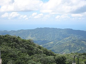 Cordillera Central (Puerto Rico) - Cordillera Central from Mirador Villalba-Orocovis