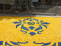 Corpus Christi flower carpet in Tamarite 2006-040.jpg