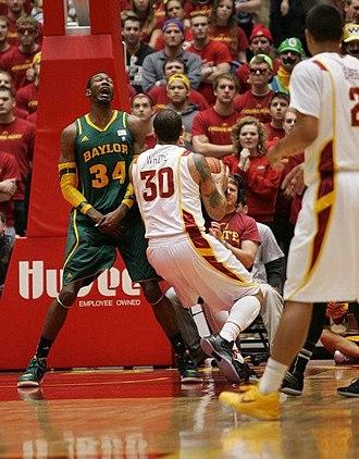 Cory Jefferson - Jefferson drawing a charge
