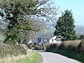 Cottages on approach to Llysfaen - geograph.org.uk - 156084.jpg