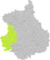 Coudreceau (Eure-et-Loir) dans son Arrondissement.png